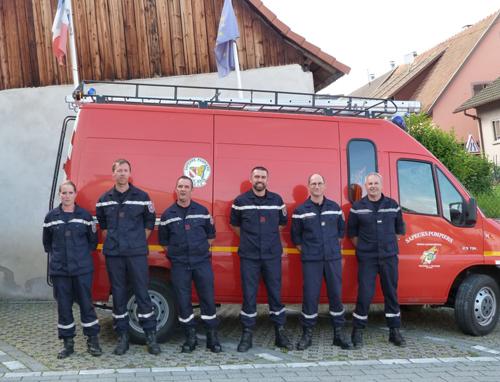 L'amicale des Sapeurs-Pompiers de Neubois